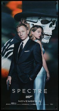 4z292 SPECTRE 26x50 phone booth poster '15 Daniel Craig as James Bond 007 w/ sexy Lea Seydoux!