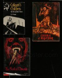 eMoviePoster com: 5a211 LOT OF 3 HORROR MOVIE HARDCOVER