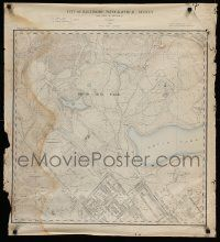5t304 CITY OF BALTIMORE TOPOGRAPHICAL SURVEY 2 30x33 specials '1890s cool maps, 19th century!