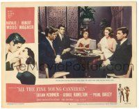 5w512 ALL THE FINE YOUNG CANNIBALS LC #2 '60 Natalie Wood, George Hamilton & Robert Wagner!