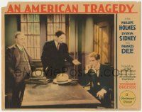 5w517 AMERICAN TRAGEDY LC '31 Phillips Holmes, Middleton, directed by Joseph von Sternberg, rare!