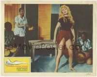 5w518 AND GOD CREATED WOMAN LC '57 super sexy Brigitte Bardot dancing by guys playing instruments!