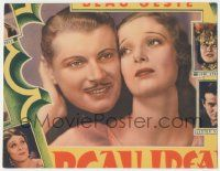 5w531 BEAU IDEAL LC trimmed to 8x10 '31 wonderful c/u of Ralph Forbes & beautiful Loretta Young!