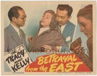 5w535 BETRAYAL FROM THE EAST LC '44 scared worried Nancy Kelly is taken hostage by Japanese spies!