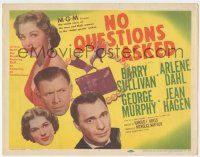 5w332 NO QUESTIONS ASKED TC '51 treacherous Arlene Dahl is a double-crossing doll, Barry Sullivan