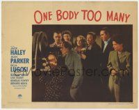 5w813 ONE BODY TOO MANY LC #7 '44 Jack Haley, Jean Parker, Lyle talbot, Douglas Fowley & top cast!