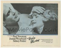 5w816 PARIS BLUES LC #6 '61 best romantic close up of Paul Newman laying with Joanne Woodward!