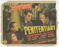 5w351 PENITENTIARY TC '38 Walter Connolly, John Howard & Jean Parker rock the Big House!