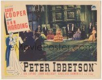 5w819 PETER IBBETSON LC '35 Gary Cooper & Ann Harding in huge room listening to man play piano!