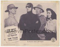 5w820 PHANTOM chapter 5 LC '43 great close image of Tom Tyler in costume, incredibly rare!