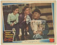 5w821 PHILADELPHIA STORY LC '40 Virginia Weidler watches Katharine Hepburn tease Roland Young!