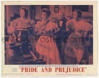5w825 PRIDE & PREJUDICE LC #8 R62 Bennett family is in an uproar when their sister gets married!