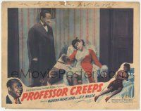 5w827 PROFESSOR CREEPS LC '42 Flourney Miller stares down at Florence O'Brien, Toddy, ultra rare!