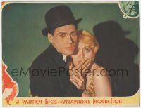 5w829 PUBLIC ENEMY LC trimmed to 8x10 '31 best close up of scared Joan Blondell & Edward Woods!