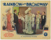 5w831 RAINBOW OVER BROADWAY LC '33 Joan Marsh & Frank Albertson help Grace Hayes regain her fame!