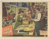 5w836 RED CANYON LC #4 '49 Ann Blyth watches Edgar Buchanan staring at Jane Darwell in store!