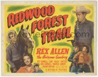 5w362 REDWOOD FOREST TRAIL TC '50 Arizona Cowboy Rex Allen, sexiest Jeff Donnell plus Alfalfa!