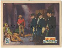 5w843 RIDE RANGER RIDE LC '36 cavalrymen watch Gene Autry by unconscious Native American Indian!