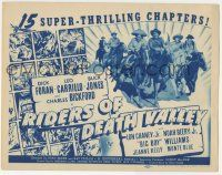 5w365 RIDERS OF DEATH VALLEY TC '41 Dick Foran, Leo Carrillo, Buck Jones, Bickford, Chaney!