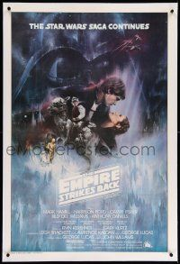 6a011 EMPIRE STRIKES BACK linen int'l 1sh '80 classic Gone With The Wind style art by Roger Kastel!