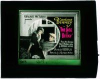 6d043 CASE OF BECKY glass slide '21 Constance Binney is hypnotized by a magician into leaving!