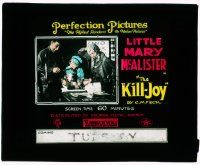6d072 KILL-JOY glass slide '17 a town that forbids women gets stuck with a female orphan!