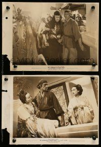 6m950 ADVENTURES OF MARCO POLO 2 8x11 key book stills '37 Cooper, Asian Lana Turner & Sigrid Gurie!