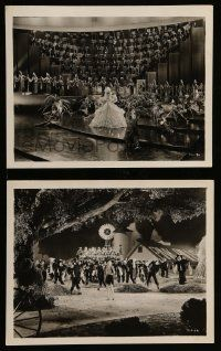 6m961 GOING HOLLYWOOD 2 8x10 stills '33 both with sexiest Marion Davies in dance numbers, Walsh!