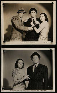6m973 LOVE, HONOR & OH BABY! 2 8x10 stills '40 Wallace Ford, Mona Barrie, a new high in hilarity!