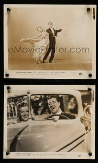 6m978 MOON OVER MIAMI 2 8x10 stills '41 gorgeous dancing Betty Grable + Don Ameche!