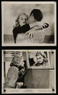 6m979 NAKED KISS 2 8x10 stills '64 Sam Fuller, sexy bad girl Constance Towers & Michael Dante!