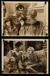 6m822 AFFAIRS OF CELLINI 6 from 7.5x10.25 to 8x10 stills '34 Constance Bennett, March, Fay Wray!