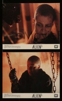 6m552 ALIEN 3 7 8x10 mini LCs '92 great images of Sigourney Weaver as Ripley, David Fincher!