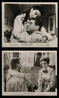 6m730 ALL THE WAY HOME 9 8x10 stills '63 Jean Simmons & Robert Preston from a James Agee novel!