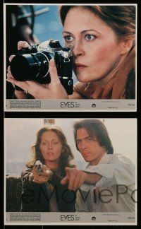 6m536 EYES OF LAURA MARS 8 8x10 mini LCs '78 Tommy Lee Jones, psychic Faye Dunaway, sexy models!