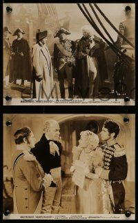 6m899 HEARTS DIVIDED 4 7.5x9.5 stills '36 Marion Davies, Dick Powell, Claude Rains as Napoleon!