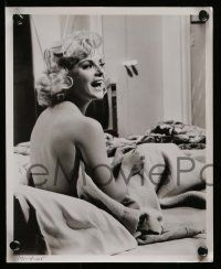 6m901 HOW TO MURDER YOUR WIFE 4 8x10 stills '65 all with sexiest Virna Lisi, one naked in bed!
