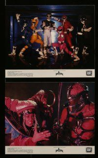 6m541 MIGHTY MORPHIN POWER RANGERS 8 8x10 mini LCs '95 Bandai, giant robots vs. alien monsters!