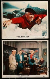 6m542 MOUNTAIN 8 color 8x10 stills '56 mountain climber Spencer Tracy, Claire Trevor, Robert Wagner