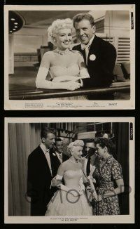 6m768 MY BLUE HEAVEN 8 from 7.5x9.5 to 8x10 stills '50 all with gorgeous Betty Grable + Dan Dailey