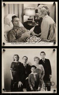 6m669 ONE FOOT IN HEAVEN 13 8x10 stills '41 minister Fredric March & Martha Scott!