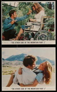 6m581 OTHER SIDE OF THE MOUNTAIN PART 2 4 8x10 mini LCs '78 Timothy Bottoms & Marilyn Hassett!
