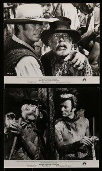 6m770 PAINT YOUR WAGON 8 from 7.5x9.5 to 8x10 stills '69 Lee Marvin & sexy Jean Seberg!