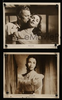 6m720 PORTRAIT OF JENNIE 10 8x10 stills R56 Joseph Cotten loves beautiful ghost Jennifer Jones!