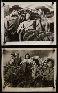 6m698 PRAIRIE 11 8x10 stills '47 James Fenimore Cooper western, mighty as the great Midwest!