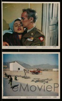 6m563 TAKE THE HIGH GROUND 6 color 8x10 stills '53 Korean War soldiers Widmark & Karl Malden!