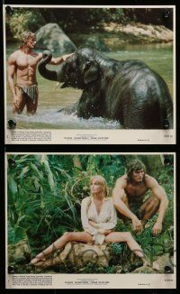 6m549 TARZAN THE APE MAN 8 8x10 mini LCs '81 sexy Bo Derek, Miles O'Keeffe, Richard Harris!