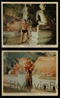 6m512 TARZAN'S THREE CHALLENGES 11 color 8x10 stills '63 Edgar Rice Burroughs, Jock Mahoney, Strode!