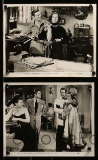 6m683 TELL IT TO THE JUDGE 12 8x10 stills '49 Robert Cummings, gorgeous Rosalind Russell!