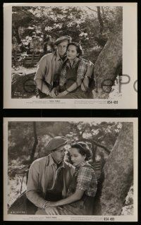 6m916 THESE THREE 4 8x10 stills R54 Miriam Hopkins, Merle Oberon & Joel McCrea targets of slander!